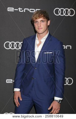 LOS ANGELES - SEP 13:  Logan Paul at the Audi Pre-Emmy Party at the La Peer Hotel on September 13, 2018 in West Hollywood, CA