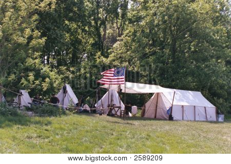 Civil War Camp Site