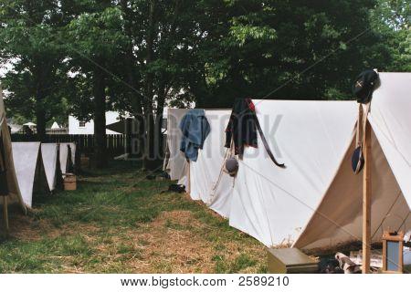 Civil War Tent City