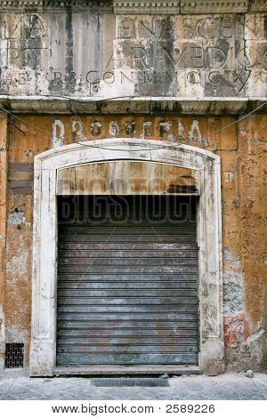 Ghetto Neighbourhood In Roma