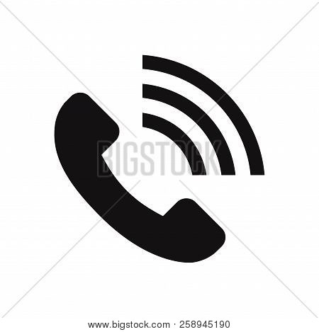 Call Volume Icon Isolated On White Background. Call Volume Icon In Trendy Design Style. Call Volume