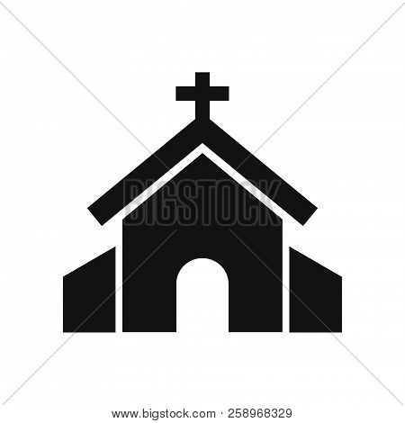 Church Icon Isolated On White Background. Church Icon In Trendy Design Style. Church Vector Icon Mod