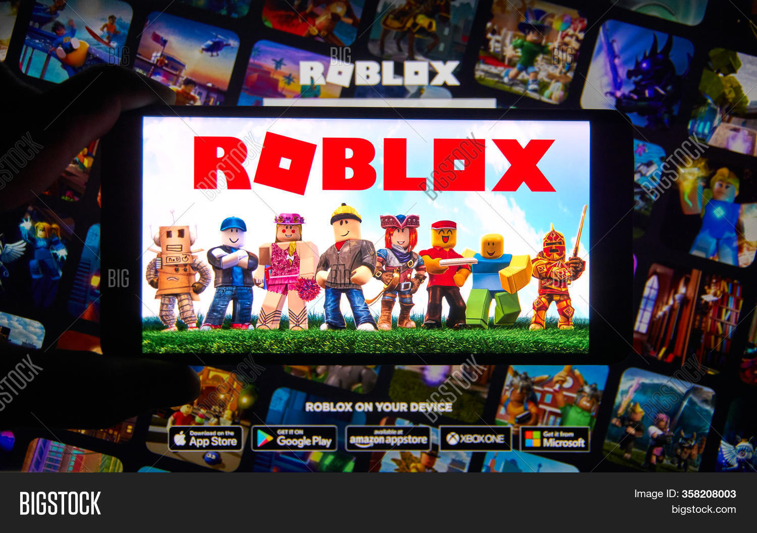 Roblox App Preview Video Montreal Canada Image Photo Free Trial Bigstock