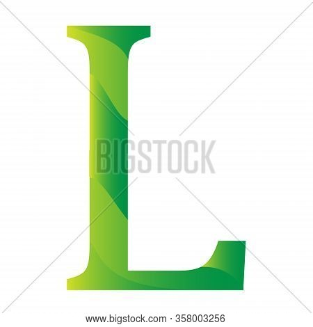 Swazi Lilangeny Currency Symbol Icon Of Swaziland Vector Illustration On A White Background
