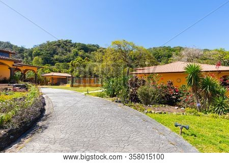 Orosi Costa Rica March 17 Luxury Houses Hidden In The Tropical Nature Of Orosi Hills In Central Cost