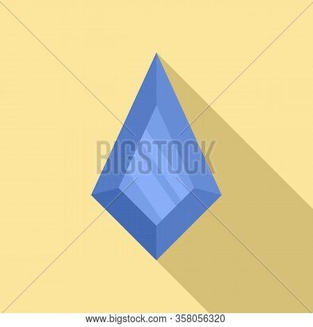 Wedding Jewel Icon. Flat Illustration Of Wedding Jewel Vector Icon For Web Design