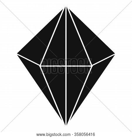 Carat Jewel Icon. Simple Illustration Of Carat Jewel Vector Icon For Web Design Isolated On White Ba