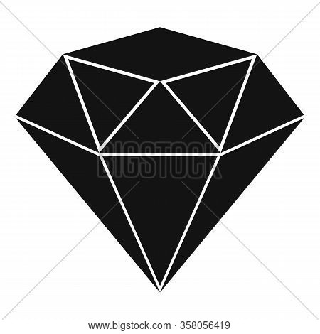 Love Jewel Icon. Simple Illustration Of Love Jewel Vector Icon For Web Design Isolated On White Back