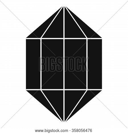 Sapphire Icon. Simple Illustration Of Sapphire Vector Icon For Web Design Isolated On White Backgrou