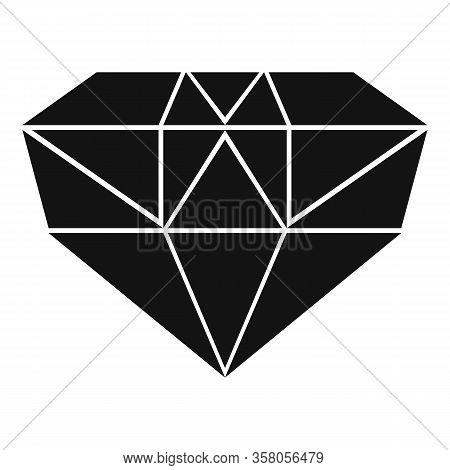 Luxury Jewel Icon. Simple Illustration Of Luxury Jewel Vector Icon For Web Design Isolated On White