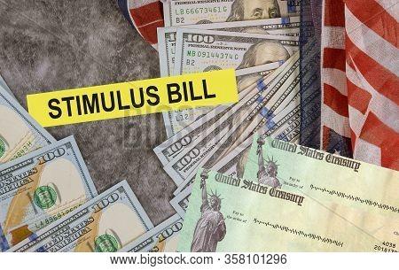 Global Pandemic Covid 19 Lockdown Senate Stimulus Deal Includes Individual Checks Virus Economic Sti