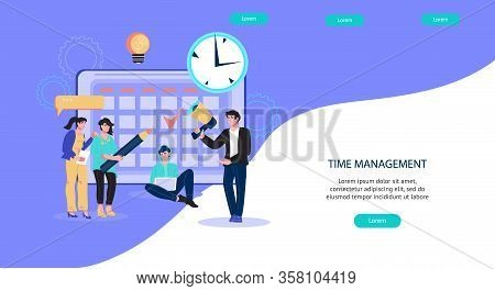 Time Management Vector Photo Free Trial Bigstock