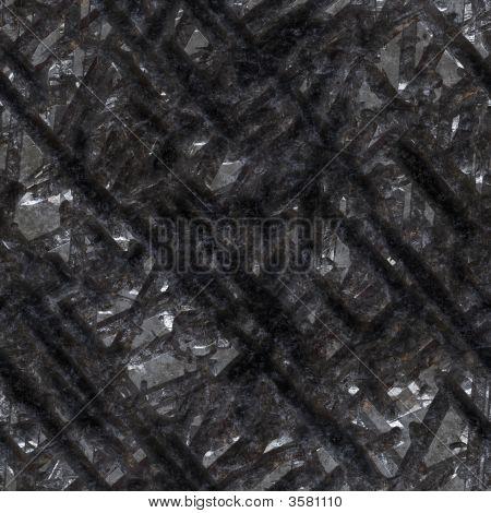 Damaged Metal Surface