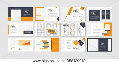Minimal Slides Presentation Background Template. Business Presentation Template