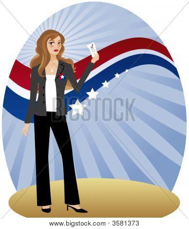 Woman Voter
