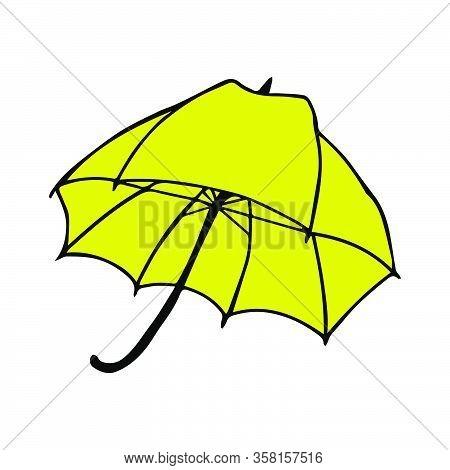Umbrella Vector Illustration. Umbrella For Decoration Design. Umbrella For Concept Design. Creative