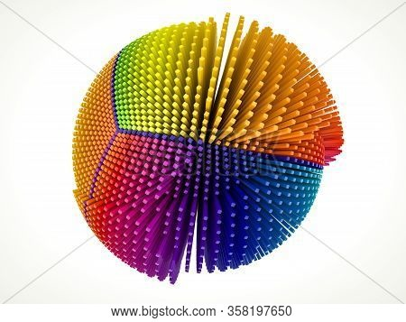 3D Color Burst