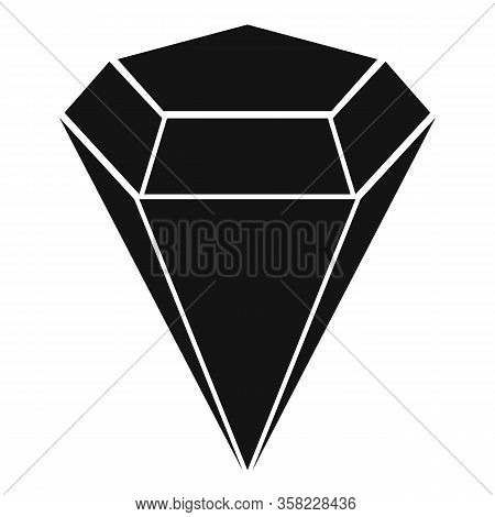 Marquise Gemstone Icon. Simple Illustration Of Marquise Gemstone Vector Icon For Web Design Isolated