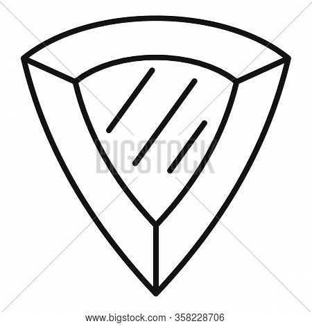 Award Jewel Icon. Outline Award Jewel Vector Icon For Web Design Isolated On White Background