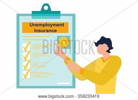 Unemployment Insurance Benefits In The Coronavirus Stimulus Package. File A Claim For Unemployment I