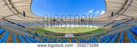 Rio De Janeiro, Rio, Brazil, Sept 05, 2018: View Of The Maracana Stadium, Rio De Janeiro, Brazil, So