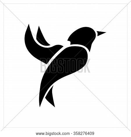 Bird Logo. Flying Bird Logo. Flat Bird Logo Icon. Modern Bird Logo Design Concept . Nature Bird Logo