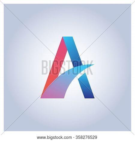 A Letter Logo Vector, A Letter Logo Design Vector Illustration Template, A Letter Logo Vector, Lette