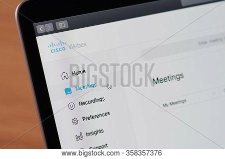 Cisco Webex Meeting Menu