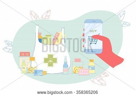 Collect Necessary Remedy In Online Shopping Cart. In Order Not To Buy Each Medicine Separately, Nece