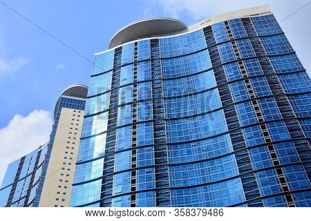 Taguig, Ph - Oct. 1: Pacific Plaza Towers On October 1, 2016 In Taguig, Philippines. The Pacific Pla