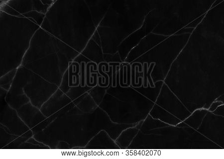 The Black Marble Natural Pattern For Background