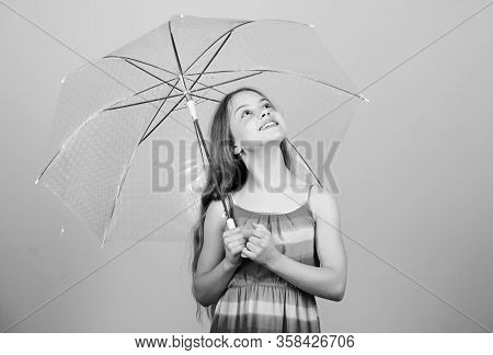 Seasonal Changes. Fall Season. Enjoy Rain Concept. Waterproof Accessory. Rainy Days Coming. Love Rai
