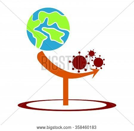 The World Is Facing A Severe Crisis From An Epidemic Of Viral Diseases Causing Global Financial And