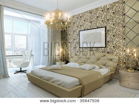 Gold Bedroom