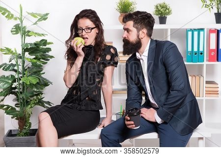Lunch Time. Office Couple. Office Flirt. Career Company. Flirting And Seduction. Sexy Secretary. Off