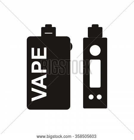 Vaporizer Vector Icon On White Background. Vaporizer Icon Symbol Sign From Modern Electronic Devices