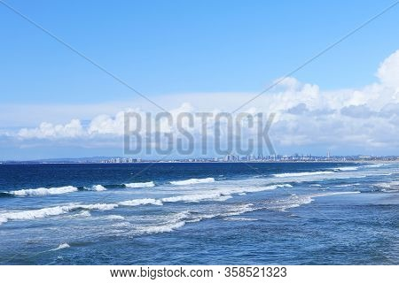 A View Of San Diego Seen From Imperial Beach, California
