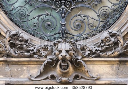 Elements Of Architectural Decorations Of Buildings, Sculptures And Statues, Public Places In Lviv, U
