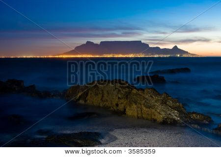 Table Mountain Sunset