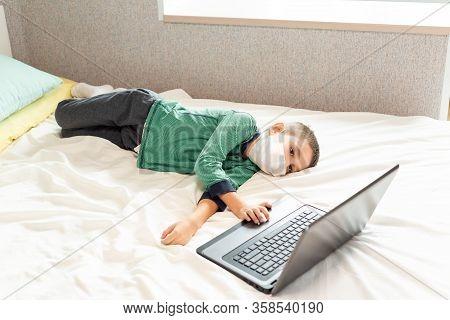 Stay At Home Quarantine Coronavirus Pandemic Prevention.