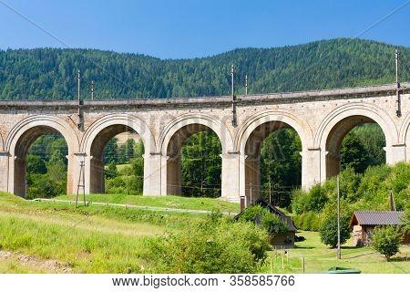 rail viaduct, Semmering Bahn, unesco world heritage, Lower Austria
