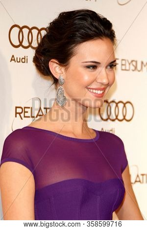 LOS ANGELES - JAN 14:  Odette Annable at the 2012 Art of Elysium Heaven Gala at the Union Station on January 14, 2012 in Los Angeles, CA