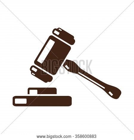 Law And Attorney Vector Logo Design