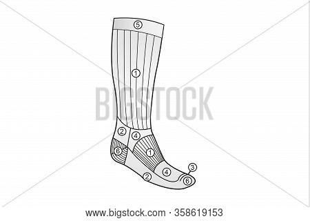 Unisex Thermal Running Winter Warm Sport Socks Mens & Womens Outdoors Comfortable Soccer Socks. Rech