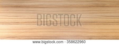 Wood Texture. Wood Texture For Design And Decoration. The Color Is Orange-beige With A Thin Brown St