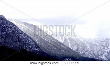 Winter Snow Peak Mountain Landscape Hike Epic Mountains Outdoor Adventure