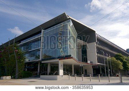 Brisbane, Queensland, Australia - 15th January 2020 : View Of Abc (australian Broadcasting Corporati