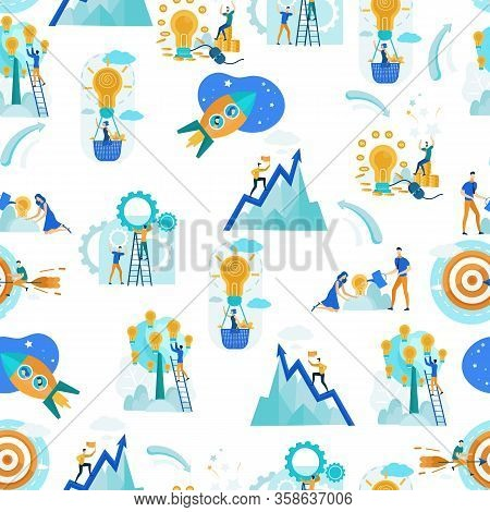 Pattern Development Target Informational Banner. Realizing Objectives Enterprise To Improve Performa
