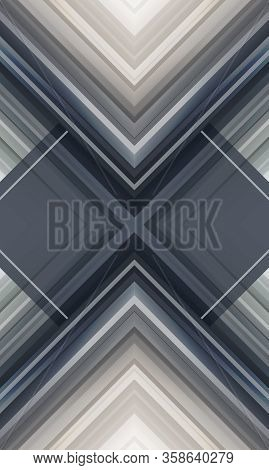 Abstract Geometric Chevron Background For Web Banner Or Print. Futuristic Technology Background. Shi