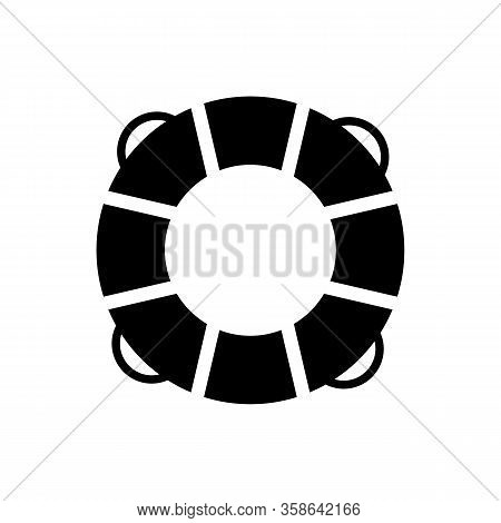 Life Buoy Icon Vector For Graphic Design, Logo, Web Site, Social Media, Mobile App, Ui Illustration